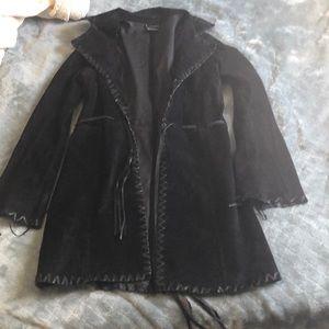 Jackets & Blazers - Beautiful leather or suede genuine jacket